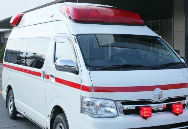 救急車出動の写真